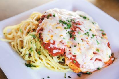 Our famous Chicken Parmesan!